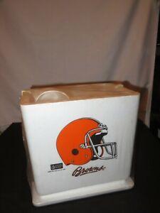 NFL FOOTBALL CLEVELAND BROWNS PICNIC SET COOLER CUPS PLATES NAPKINS NEW SEALED