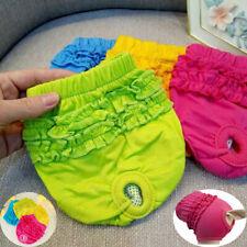 Dog Pants Female Puppy Underwear Sanitary Short Diaper Pet Panties