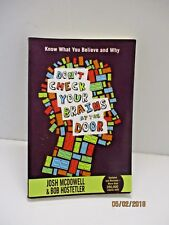 Donu0027t Check Your Brains At The Door By Josh McDowell And Bob Hostetler