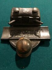 French Trench Art Depose Ww1 Canon Regiment France Military Inkwell 1914