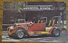 VINTAGE BEVERLY HILLBILLIES PROMO CARD HOT ROD 1921 OLDSMOBILE TV SHOW CAR OLDS