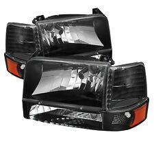 Spyder Auto 5073136 XTune Bumper Headlights/Corner Lights Fits Bronco F-150