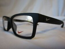 NIKE EYEGLASS FRAME NIKE 7103 NK7103 001 MATTE BLACK 52-15-140 NEW & AUTHENTIC