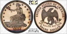 1882 T$1 Trade Dollar Certified PCGS PR62CAM Gold Label Holder ONLY 1097 MINTED