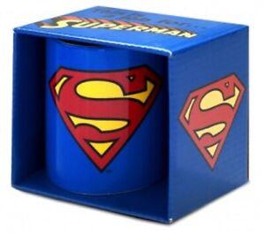 SUPERMAN TASSE DC Comics Clark Kent NEU OVP 350ml