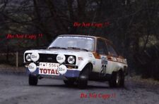 Henri Toivonen Ford Escort RS 1800 RAC Rally 1979 Photograph 2