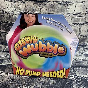 Groovy Wubble Bubble Ball Multicolored No Pump Needed Tie-Dye