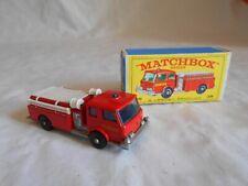 Matchbox Lesney No29 Denver Fire pumper truck no1