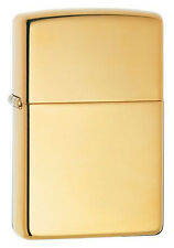 Zippo 254b high polish solid brass full size Lighter