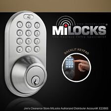 Electronic Keyless Entry Keypad Deadbolt Door Lock DF-02SN