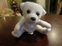 "4"" Tall Danimals Polar Bear Stuffed Animal #4279"
