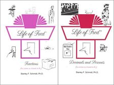 Life of Fred SET of 2 -- Fractions plus Decimals and Percents