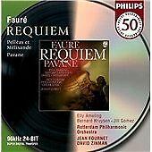 Requiem (Fournet, Zinman), Gabriel Faure, Good Used CD Original recording remast