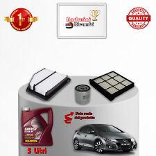 Kit de Mantenimiento Filtros + Aceite Honda Civic Ix 1.6 I-Vtec 92KW 125CV 2012-