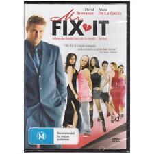 DVD MR FIX IT David Boreanaz AKA: THE PERFECT LIE Romance ALL PAL REGIONS [BNS]