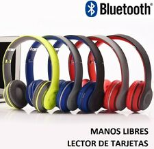 CASCOS AURICULARES BLUETOOTH INALAMBRICOS ORDENADOR PC PORTATIL TV MUSICA MP3