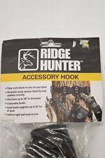 Ridge Hunter 4 Accessory Hooks Easy Versatile Lightweight for Hunting & Camping