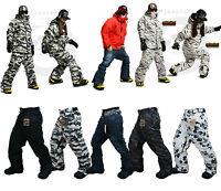 Southplay Unisex Winter Premium Ski-Snowboard Total Military Pants / Multi color