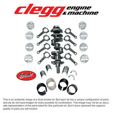FORD 302-347 SCAT STROKER KIT Forged(Flat)Pist., I-Beam Rods, Forged Crank