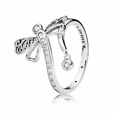 NEW! Authentic Pandora Dreamy Dragonfly Clear CZ Ring #197093CZ-52 (6) $70