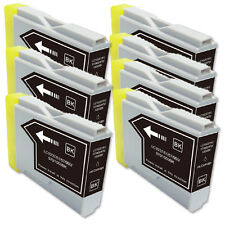 7 BLACK Ink Cartridge Compatible for Brother LC51 MFC 665CW 685CW 845CW  885CW