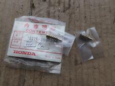 HONDA PF50 PC50   CARBURETTOR SCREWS 2 OFF 16016 063 004  NOS    7
