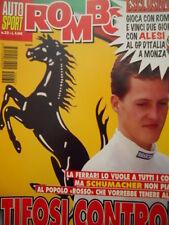 Auto & Sport ROMBO 32 1995 Michael Schumacher matrimonio con la Ferrari