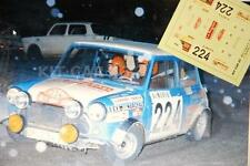 DECAL CALCA 1/43 MINI COOPER E. REVERTER RALLY MONTE CARLO 1973