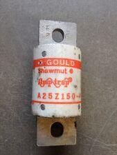 GOULD SHAWMUT AMPTRAP A25Z150 FUSE NEW No Box 150amp 250v