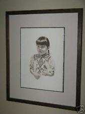 STEVE FORBIS LIMITED EDITION LITHOGRAPH  FRAMED