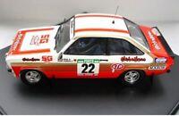 TROFEU 1020 1805 1807 FORD ESCORT MKII rally cars Silva Beauchef Kankkunen1:43