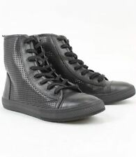 High-Top Sneakers mit Canvas/Segeltuch