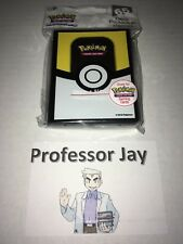 Pokemon Cards ULTRA PRO Premium ULTRA BALL Sleeves 2018 LIMITED EDITION TCG