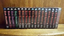Lot of 17 Dark Shadows Vhs Volumes 1-17 Gothic Tv Soap Opera