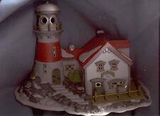 DEPT.  56 PIGEONHEAD LIGHTHOUSE NEW ENGLAND VILLAGE 1994 HERITAGE VILLAGE MIB