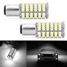 2X 1157 3528 BAY15d P21/5W 120 SMD Auto Car LED Brake Light Lamp Bulb 12V