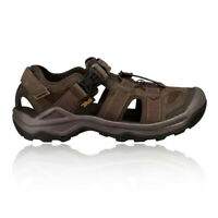 Teva Mens Omnium 2 Leather Walking Shoes Sandals - Brown Sports Outdoors
