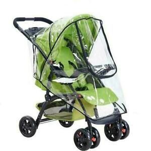 1*Stroller Rain Cover Universal, Baby Travel Weather Wind/Dustproof Shield, Q0P2