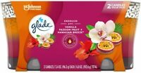 Glade 2in1 Jar Candle Air 6.8 Ounce Hawaiian Breeze/Vanilla Passion Fruit