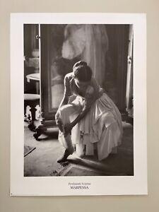 FERDINANDO SCIANNA, 'MARPESSA'  PHOTOGRAPHY, AUTHENTIC 1999 ART PRINT