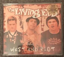 THE LIVING END- West End Riot CD FAST FREE POST