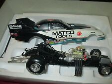 MATCO TOOLS Dean Skuza dodge funny car Action Racing Collectable 1:24 1 of 3000