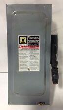 SQUARE D * 600V 30A SAFETY SWITCH  *  HU361
