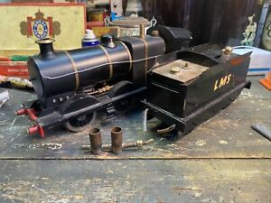 Live Steam LMS Locomotive And Tender - Project Scale Engine - Gauge 1