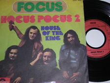 "7"" - Focus Hocus Pocus 2 & House of the King - 1971 # 5419"