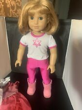 Beautiful Pristine Pleasant Company American Girl Nellie Doll With 3 Outfits