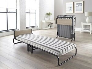 JAY_BE Revolution Folding Bed with Rebound e-Fibre Mattress 2FT6 Small Single Fo