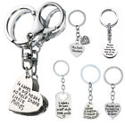 Heart Pendant Teachers Keychain Gifts Keyring Key Chain Silver Jewelry Charm Hot