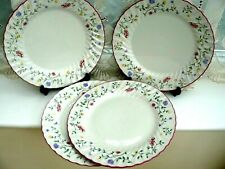 More details for 4 x  johnson bros  **  summer chintz  **  large   dinner plates  26.5cms