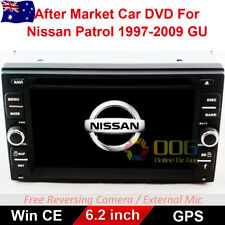 "6.2"" Car DVD GPS Navigation Head Unit Stereo For Nissan Patrol 1997-2009 GU"